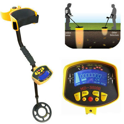 Metal Detector Gold Digger Light Waterproof Hunter Finder Deep Sensitive Search