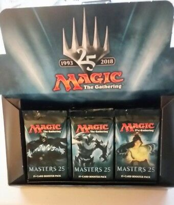 Magic The Gathering sealed MODERN MASTERS 25 Booster Pack, Jace Imperial filter