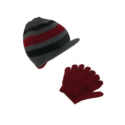 New Dorfman Pacific Kids' Knit Radar Hat and Gloves Winter Set