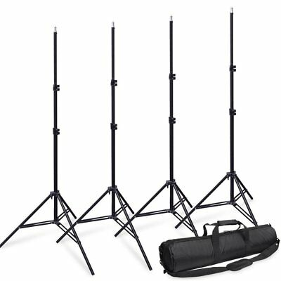"""27"""" 70cm Camera Thicker Padded Light Stand Tripod Carry Bag Case + 4X 2m Stand"""