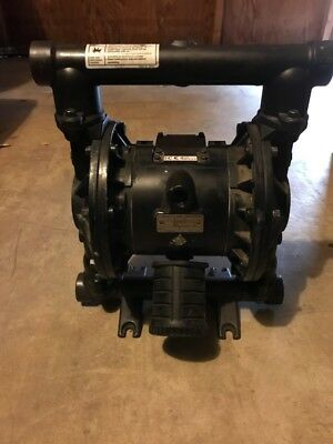 "Graco Husky 1040  1"" Air Diaphragm Pump Aluminum  Used"