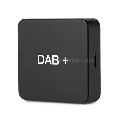 DAB 004 DAB+Box Digital Radio Antenna Tuner FM USB Fr Car Radio Android5.1 C4X2