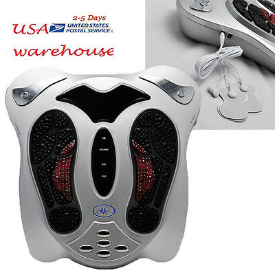 US Circulation Medical Blood Booster Infrared Electromagnetic Home Foot Massager