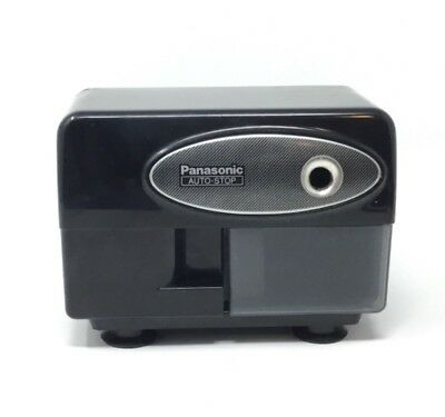 Panasonic Auto Stop Electric Pencil Sharpener KP-310 Tested Works Cleaned