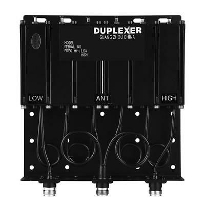 Mobile Funk Repeater Duplexer 50W Split VHF6 Hohlraum Diplexer mit N-Connector