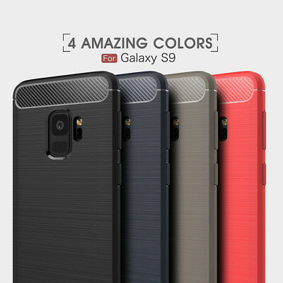 Brushed Soft Shockproof Case Cover FOR Google LG iPhone X Samsung S9 S8 Note 8