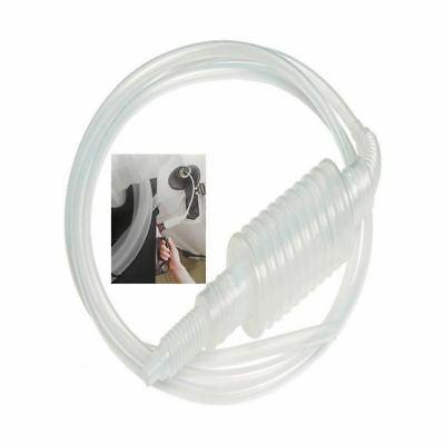 Portable Car Manual Hand Siphon Motorcycle Oil Petrol Pipe Kitchen Tool 1.9m