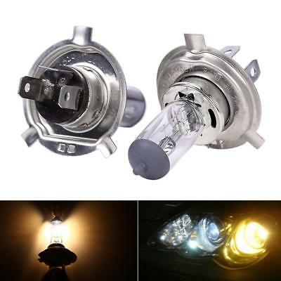 2Pcs H4 12V 55/60W 90/100W Halogen Headlight Car Driving Fog Light-Lamp Bulb