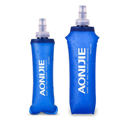 AONIJIE TPU Folding Soft Flask SportS Water Bottle for Running Camping Hik JF G*