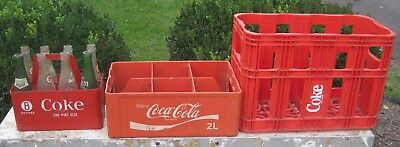 1970's Vintage, Rare and Collectible Coca Cola (Coke) Containers