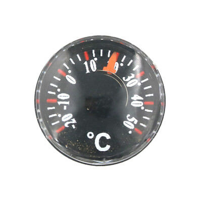 Mini Thermometer Plastic pointer Round Degrees Indoor and Outdoor HouseholdMeas~