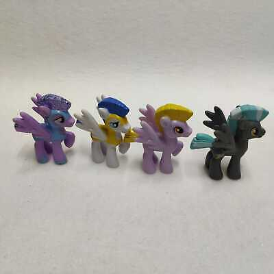 Lot4pcs My Little Pony Friendship is Magic Figure Doll Kids Toys Collection Gift