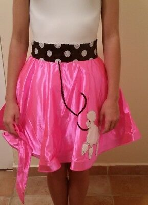 Dance Costume Large Child Pink poodle Solo Ballet tap Halloween Pageant