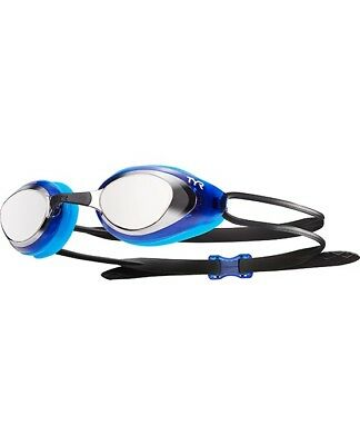 TYR Black Hawk Mirrored Swimming Goggles.TYR Racing Goggles.Swimming Goggles