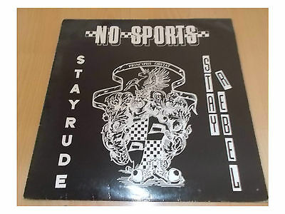 No Sports ‎– Stay Rude - Stay Rebel - 12""