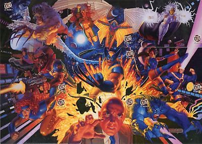 Marvel  X-Men 1994 Fleer Ultra Team Portrait 9 Chase Card Set