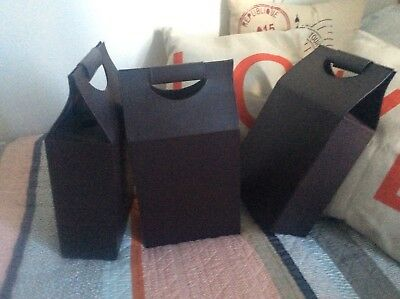 Double Wine Box. Leather Gift Box 3 Avail. Bnwot