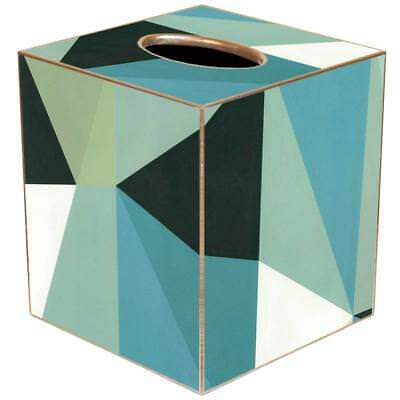 Tissue Box Cover Square Bathroom Accessories Dispenser Holder Italian Geometric