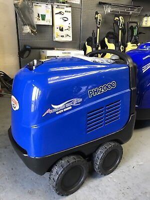 Mazzoni PH2000Hot Steam Cleaner Pressure Washer Inc Vat . £13 P/week On Lease