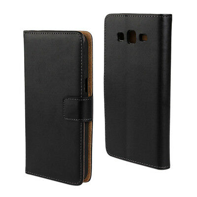 Best For Samsung Galaxy Grand 2 G7109 Genuine Leather Wallet Case Phone Cover