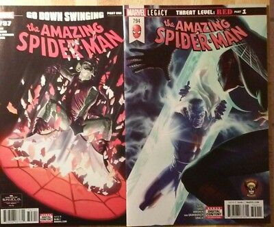 Amazing Spider-Man #794 & #797 (1st Print Set) - Red Goblin - VF/NM or Better