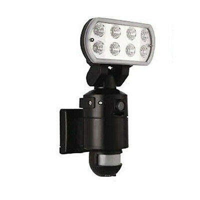 PIR LED Floodlight with CCTV Camera Recorder, Motion Detection Security Light