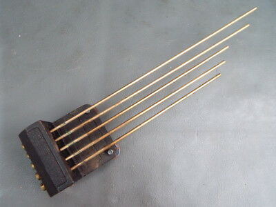 Vintage 5 rod clock chimes with fixing bolts spares parts