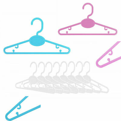 Baby Toddler Clothes Plastic Slim Hangers