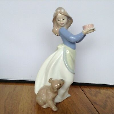 "Lladro ""puppy's Birthday"" #575 Figurine"
