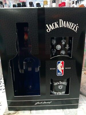 jack daniels NBA basketball gift set (glasses X2)
