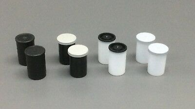 35mm film pots/canisters -30 qty pack.  Thousands to clear.