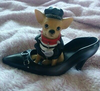 Aye Chihuahua Killer Figurine Retired Collector Hard To Find *Free Shipping
