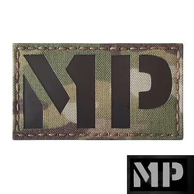 military police MP infrared IR multicam morale tactical laser hook&loop patch