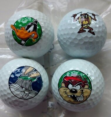 Looney Tunes Golf Balls - Bugs, TAZ and Daffy - Easter Basket Stuffers