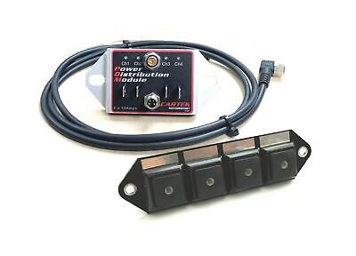 CARTEK Motorsport Power Distribution Module +Switch Panel R R32 VR6 S3 RS3 TT RS