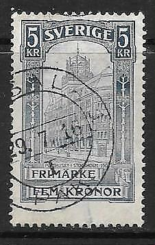 SWEDEN - 1903.  Opening of New Post Office - 5Kr., Used.