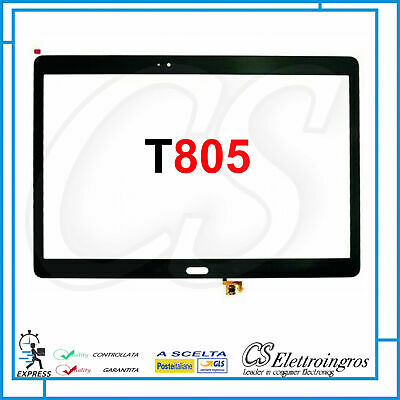 VETRO TOUCH SCREEN per SAMSUNG GALAXY TAB S 10.5 SM-T805