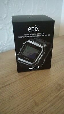 Garmin epix GPS Multisport Watch +charger and new back band