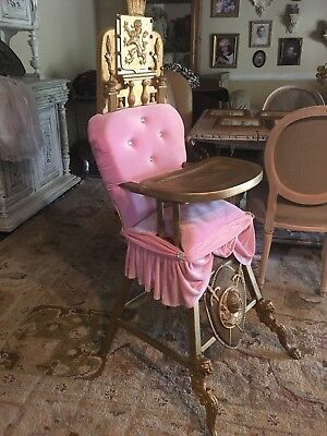 Baby High Chair Birthday Photo Prop Party Princess Throne Unique Hand Made Diva