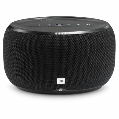 JBL Link 300 Bluetooth Voice Activated Speaker with Google Assistant - Black