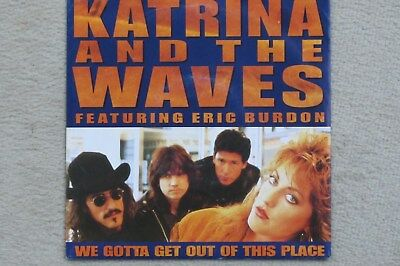 KATRINA AND THE WAVES - WE GOTTA GET OUT OF THIS PLACE - Single