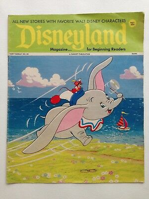 Disneyland Magazine Issue 23 Published July 18, 1972 Vintage Comics and Games