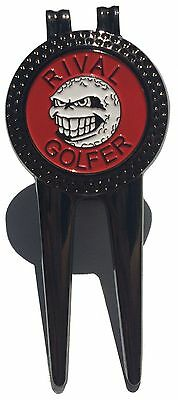 Rival Golfer's Dismantler Divot Tool - Red