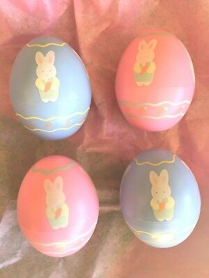 Hallmark Lot Of 4 Merry Miniature Easter Egg Containers