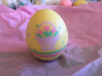 Hallmark 1989 Merry Miniature Easter Egg With Flowers