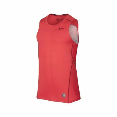 699ca412 Nike Men's Core Fit Running Sleeveless Top 693651 647, Red, SIZE Large