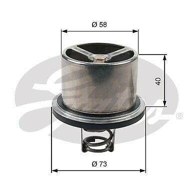 Gates Thermostat TH07882 fits BMW M Series M5 (E39) 294kw, M5 3.6 (E34) 232kw