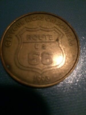 Get Your Kicks On Rt 66 Coin