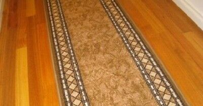 Hallway Runner Hall Runner Rug Modern Brown 11 Metres Long We Can Cut To Size