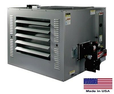WASTE OIL HEATER Commercial - 300,000 BTU - Incl TW Chimney Kit & 215 Gal Tank